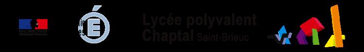 Lycée Chaptal – Saint-Brieuc Logo